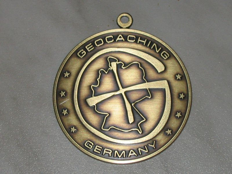 reindeer German Geocoin.JPG